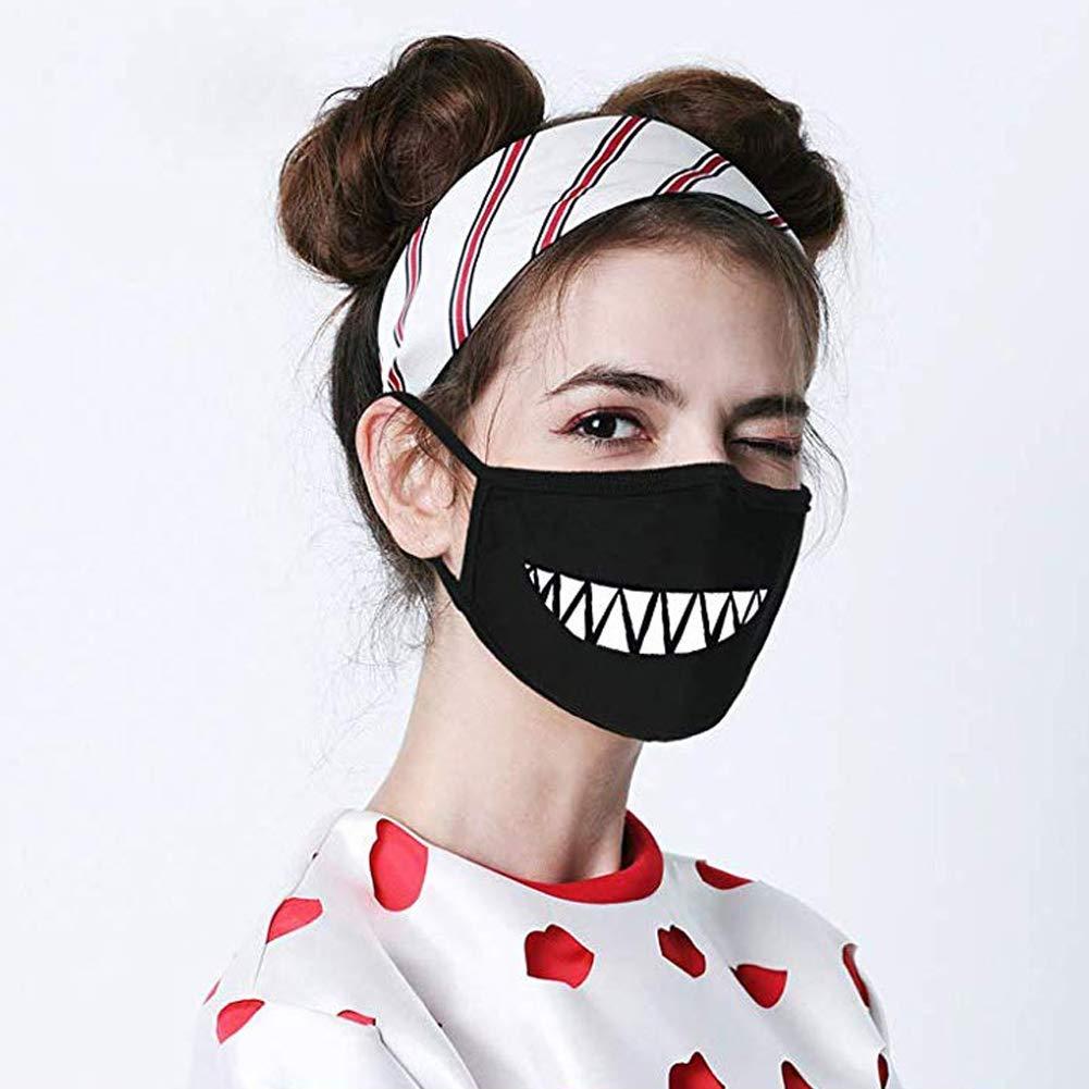 Anti Dust Cotton Mask Cute Anime Pattern for Men Women 04