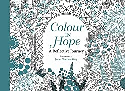 Colour in Hope coloring postcards