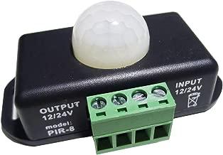 LEDENET 12V 24V PIR Sensor LED Dimmer Switch Motion Timer Function Sign Control PIR8 Cotroller LED Strip Tape Lights