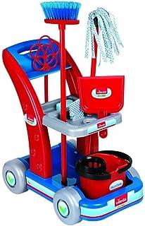 Unogiochi 6770 Vileda Maxi wózek do czyszczenia, wielokolorowy