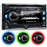 XOMAX XM-2CDB620 Car Stereo with CD-Player + Bluetooth hands-free & music streaming +