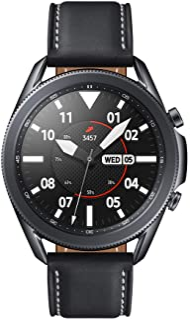 SAMSUNG Galaxy Watch3 - Smartwatch de 45mm, Bluetooth, Reloj inteligente Color Negro, Acero [Versión española] (SM-R840NZK...