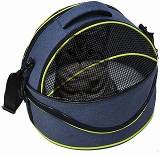 Micho Portable Cat Travel Shoulder Bag, Comfortable 2-in-1 Pet Kennel Carrier, Mesh Window Ventilated Design & Adjustable ...