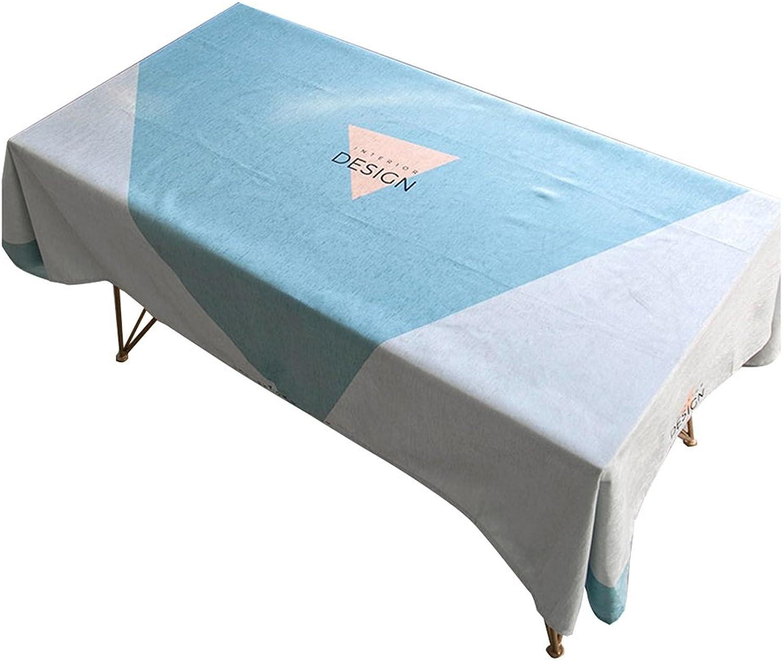 oferta especial MEIE QIG Mantel del Arte del pao, pao, pao, Mantel Impermeable del Mantel del Restaurante Mantel de la impresión de la Tabla de la Tabla de la Sala de Estar del Comedor Mantel Ancho 100-140CM  compras en linea