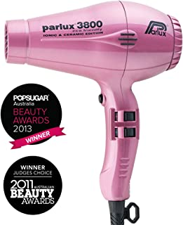 Parlux 3800 Ceramic & Ionic 2100W Hair Dryer, Pink