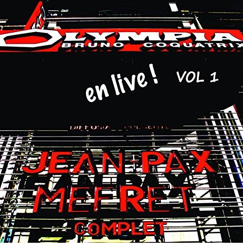 Jean-Pax Méfret, Vol. 1 (Live à l'Olympia)
