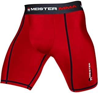 Meister MMA Compression Rush Fight Shorts w/Cup Pocket