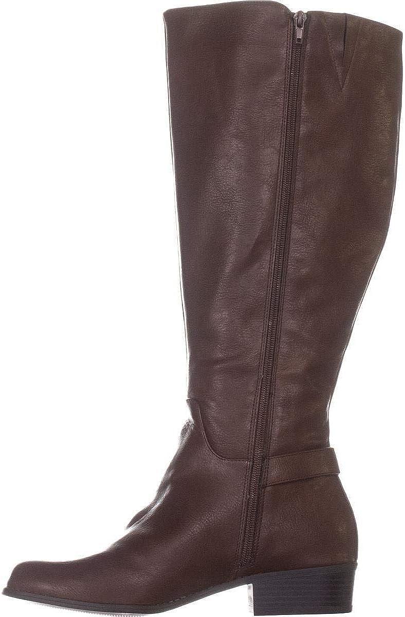 Alfani Womens Popularity Kallumm Faux Boots Knee-High Tall Leather Houston Mall