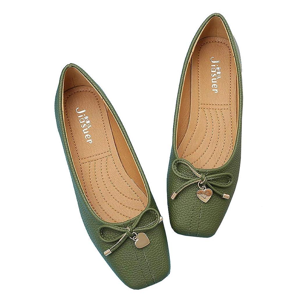 フレア保安わずかな[大きすぎる靴] レインシューズ パンプス リボン レインブーツ 雨靴 ぺたんこ バレエ シューズ 防水 撥水 母の日ギフト