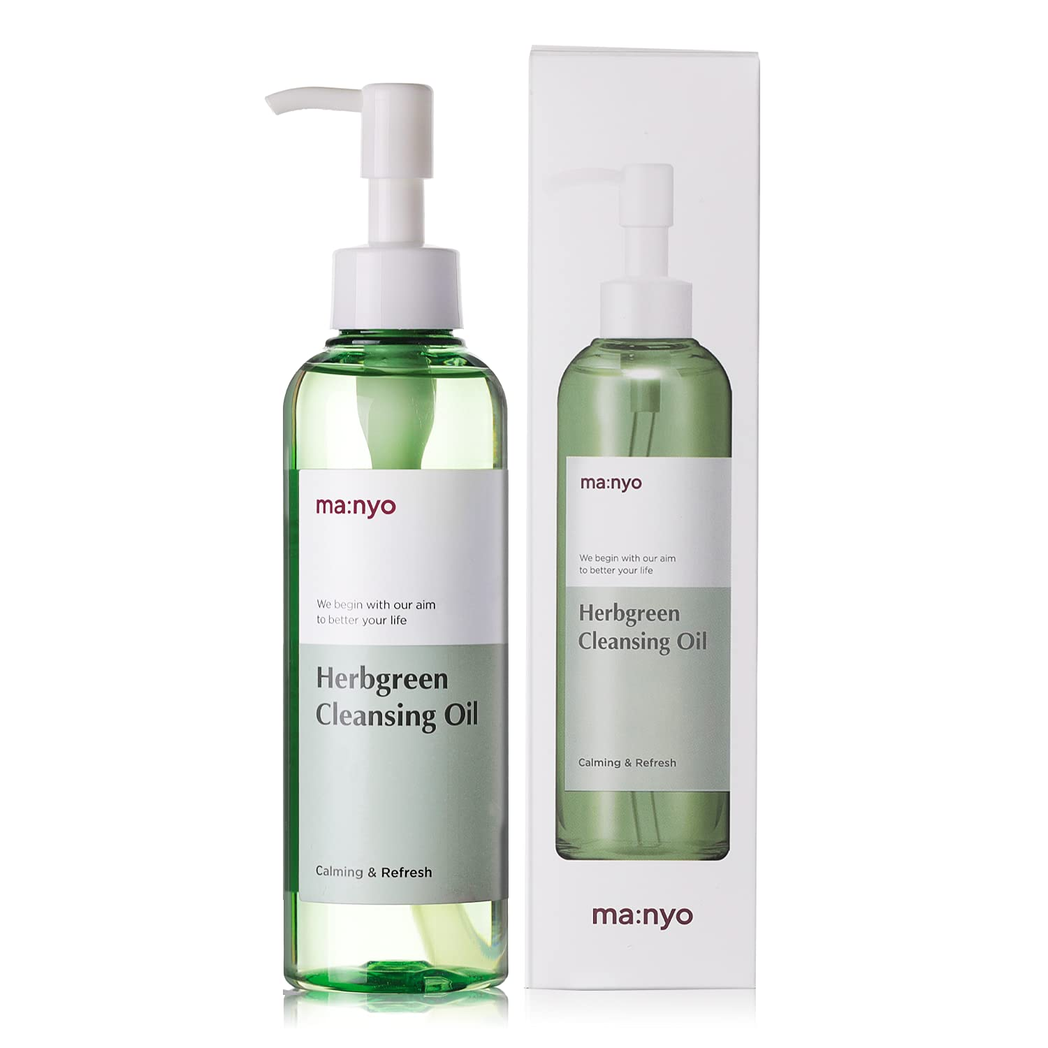 MANYO FACTORY Herb Green Cleansing Oil Korean 6.7 fl Factory outlet oz discount 200ml