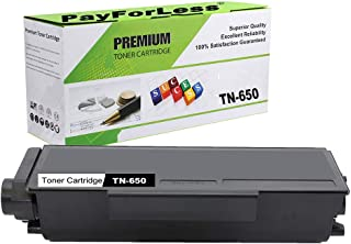 PayForLess Compatible TN650 TN-650 Toner Cartridge Black 1PK Replacement for Brother HL-5340d HL-5350dn HL-5370dw DCP-8085dn DCP-8080dn MFC-8480dn MFC-8890dw MFC-8680dn MFC-8690dw