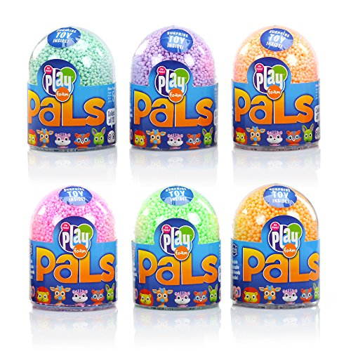 Educational Insights Playfoam Pals Wild Friends 6-Pack: Collectible Toy with Original Playfoam