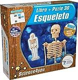 Science4you - Puzzle 3D Esqueleto Humano - Juguete Científico y Educativo Description