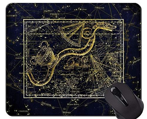 Gaming Mouse Pad, Sternbild Sternbild Zodiac Sky Themen von Office Mouse Pad