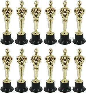 lijun Oscar - Molde de estatuilla para recompensar a los ganadores, magníficos trofeos en Ceremonias, 12 Piezas