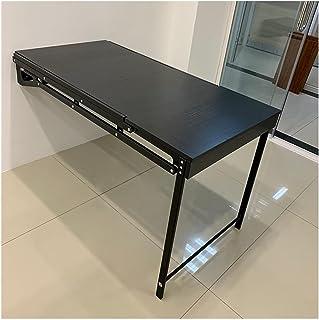 GHHZZQ Bureau de Table Rabattable Table Pliante Murale Etagère de Rangement Économie d'espace pour Le Salon Chambre Couloi...
