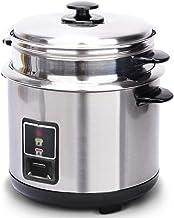 Roestvrijstalen rijstkoker, huishoudelijke ouderwetse soeppot verdikt externe staal steamer rijstkoker kan worden gebruikt...