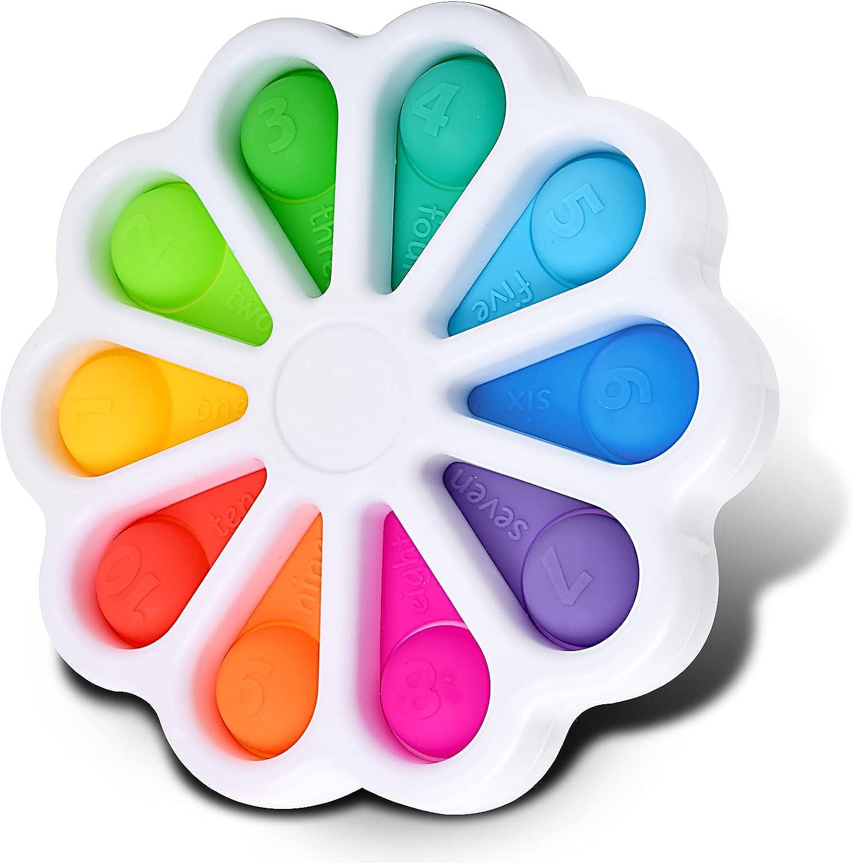 Funcare Flower Fidget Rapid rise Toys Push Bubble Pop SALENEW very popular Toy Sensory