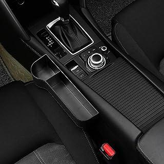 Seat Carriage Bag, 2pcs Black Car Organizer Seat Carriage Bag PU Case Pocket Multifunctional Storage Organizer Left + Righ...