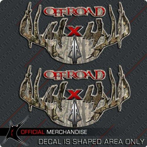 Decals 4x4 Archery Rack Deer