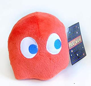 "Pac-Man 4"" Dark Orange/Red Ghost Plush"