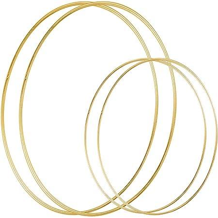 Gold Hoop 18 inch Hoop Large Hoop Oversized Hoop Wreath Wedding Hoop Brass Hoop Large Gold Hoop