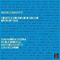 Michele Mascitti: Sonate A Violino Solo E Basso, Opera Ottava