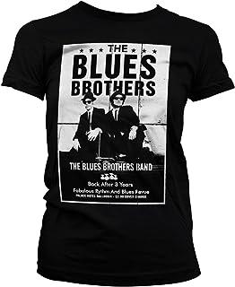 Oficialmente Licenciado The Azuls Brothers Poster Mujer Camiseta