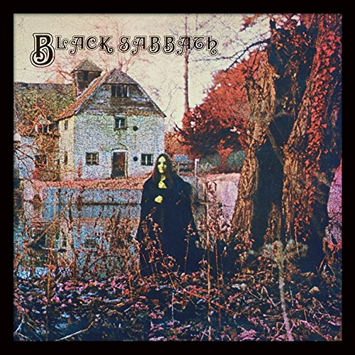 Black Sabbath 'Black Sabbath' Memorabilia,31.5 x 31.5 cm