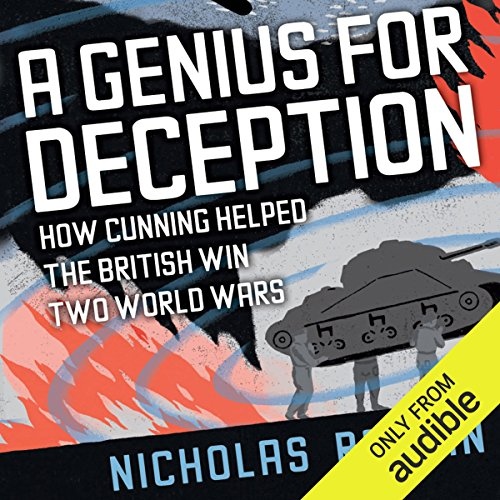 A Genius for Deception audiobook cover art