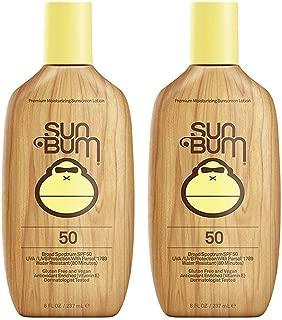 Sun Bum Moisturizing Sunscreen Lotion, SPF 50 (2 Pack)