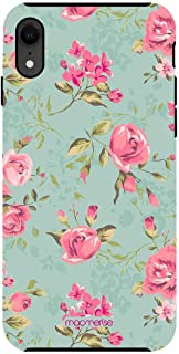 Macmerise IPCIXRTMI1974 Teal Pink Flowers - Tough Case for iPhone XR - Multicolor (Pack of1)