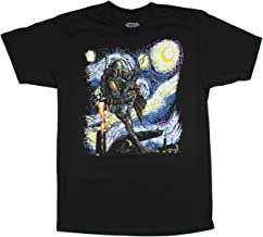 Mad Engine Star Wars Boba Fett Shirt Starry Night Men's Adult Graphic T-Shirt