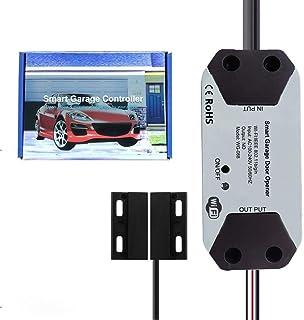 TUYA Life WiFi Remote Control Smart Garage Door Controller Opener, Smart Garage Door Wireless Control Kit,Remote Compatibl...