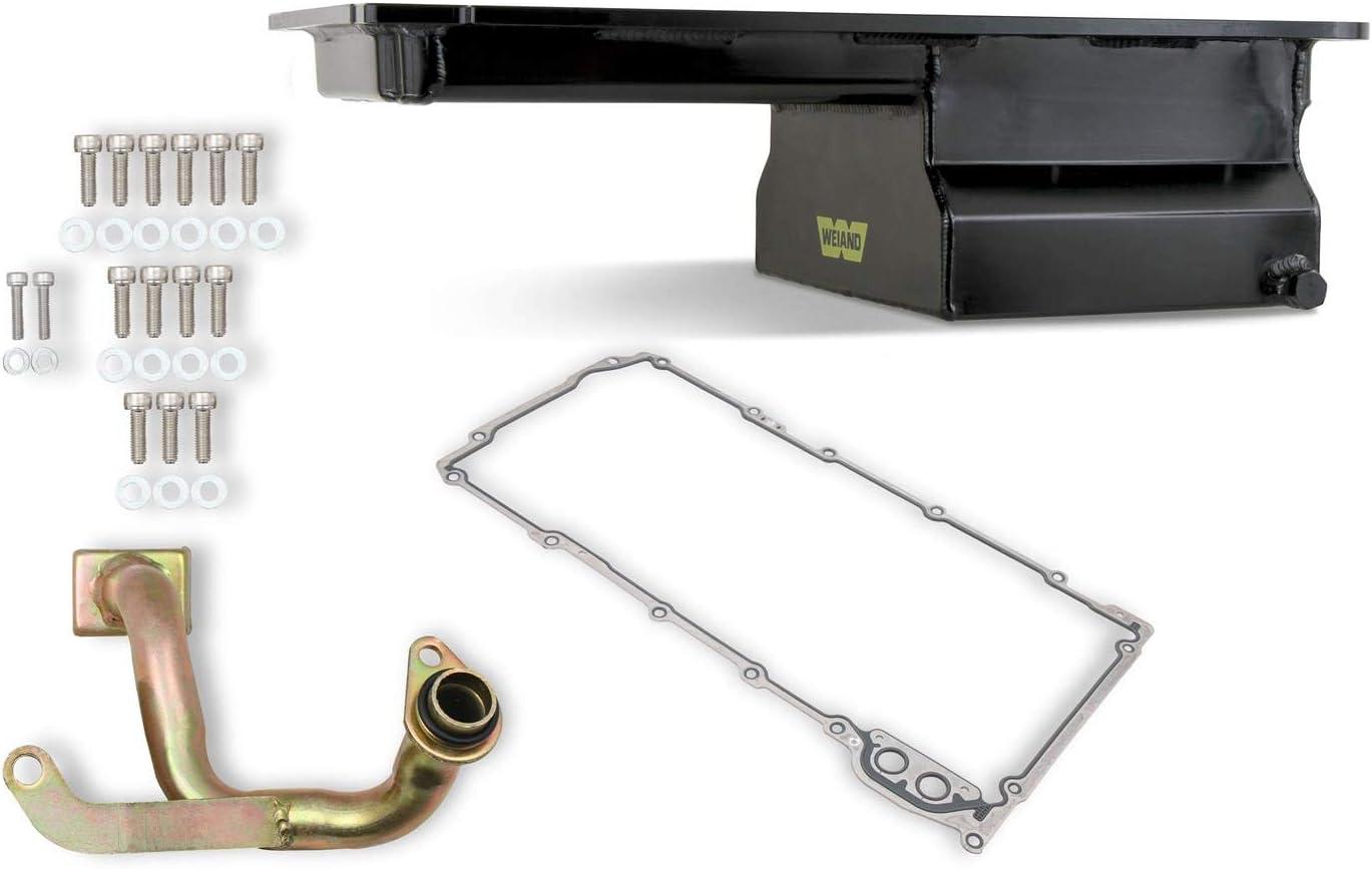 Weiand Front Sump Oil Pan Kit 2 公式通販 Ls1 Gm Lq9 期間限定の激安セール 6
