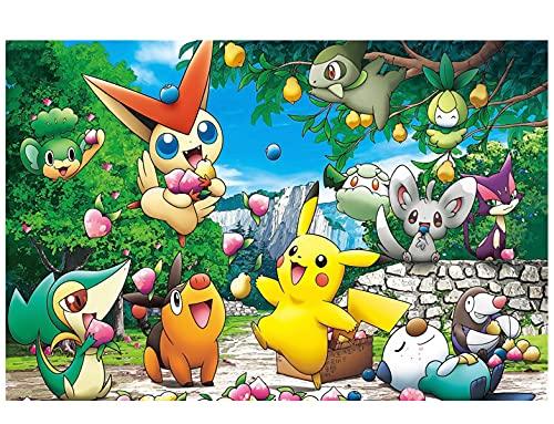 Anniversaire Fond Bannière de Toile de Fond de fête d'anniversaire Bannière de Joyeux Anniversaire Nesloonp Pokemon Thème Bannière pour Les Enfants, Photo Booth Props Toile De Fond 150cmx100cm