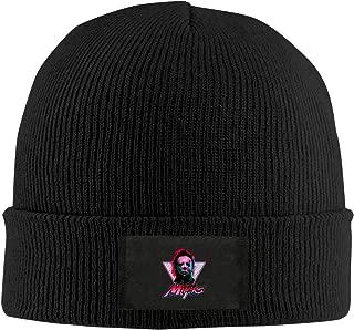Mens Women Knit Caps Horror Movie Michael Myers Halloween Skull Beanies