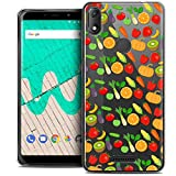 Ultra-Slim Case for 6 Inch Wiko View Max, Foodie Healthy