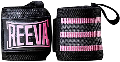 Reeva Wrist wraps voor Heren en Dames | Wrist wraps geschikt voor Crossfit, Krachttraining, Fitness en Bodybuilding