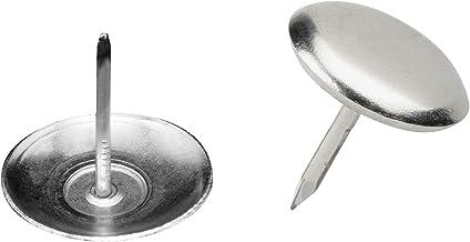 Metafranc meubelglijders Ø 25 mm - metaal - met spijker - 8 stuks - voor gemakkelijk verplaatsen van uw meubels/meubelglij...