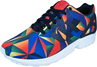 adidas Originals ZX Flux Macro Prism Running Shoes Trainers - Multi Colour