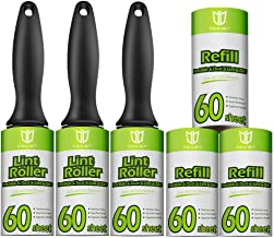 Degbit Lint Rollers for Pet Hair, [Extra Sticky, Upgraded Handles] Pet Hair Remover, Lint Remover [360 Sheets/6 Refills], ...