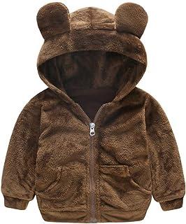 Glaiidy Chaqueta de Abrigo para niños Chaqueta de Invierno Linda niños Chaqueta de Invierno para niña Chaqueta de Invierno...