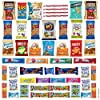 Snack Box Variety Pack (50 Count) Candy Gift Basket - College Student Care Package, Prime Food Arrangement Chips, Cookies, Bars - Ultimate Birthday Treat for Women, Men, Adults, Teens, Kids #2