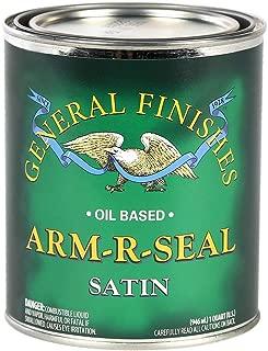 General Finishes ASQT Arm-R-Seal Urethane, 1 Quart, Satin