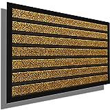 Amagabeli Outside Shoe Mat Rubber Doormat for Front Door 18'x 30' Outdoor Mats Entrance Waterproof Rugs Dirt Debris Mud Trapper Carpet for Patio Non Skid Doormats all Weather Exterior Door Mat
