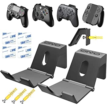 Soporte de Pared para Mando de PS4 / Xbox One/Nintendo Switch, Percha para Auriculares, Ganchos de Pared con diseño Plegable Pare Mandos Juegos, Gamepad, Cables: Amazon.es: Electrónica