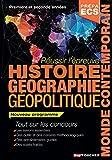 Réussir l'épreuve Histoire Géographie - Classes prépas commerciales ECS. Nouveau programme