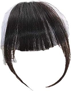 [レディレイジー] Lady Lazy 前髪 ポイントウィッグ サイド付き ぱっつん ワンタッチ ヘアピース エクステ 高級耐熱性ファイバー 部分ウィッグ かわいい 自然 小顔 原宿系