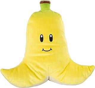 Nintendo Mario Kart Mocchi Mocchi pluche speelgoed kussen banaan 40 cm groot - geel